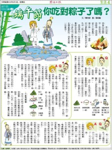 國語日報-粽子